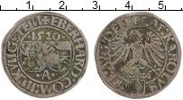 Продать Монеты Аугсбург 1 батзен 1520 Серебро