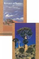 Изображение Подарочные монеты Намибия Набор 1993 года 1993  UNC