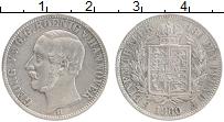 Изображение Монеты Ганновер 1/6 талера 1860 Серебро XF- В. Георг V (Снвта с
