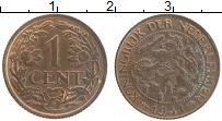 Изображение Монеты Нидерланды 1 цент 1941 Бронза XF