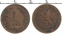 Изображение Монеты Нидерланды 1 цент 1878 Медь XF