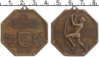 Изображение Монеты Веймарская республика Медаль 1922 Бронза XF Медаль за отличную с