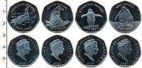 Изображение Наборы монет Фолклендские острова 50 пенсов 2020 Медно-никель UNC В наборе 4 монеты но