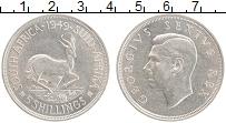 Изображение Монеты ЮАР 5 шиллингов 1949 Серебро XF Георг VI