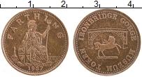 Изображение Монеты Великобритания Жетон 1987 Бронза XF Музейный токен. Брит