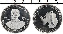 Продать Монеты Антарктика 5 долларов 2011 Серебро