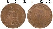 Изображение Монеты Великобритания 1 пенни 1944 Бронза VF Георг VI