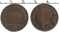 Изображение Монеты Италия 5 чентезимо 1808 Медь XF Наполеон I