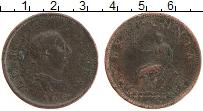 Изображение Монеты Великобритания 1/2 пенни 1806 Медь VF Георг III. Британния