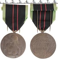 Изображение Монеты Бельгия Медаль 0 Бронза XF Медаль вооруженного