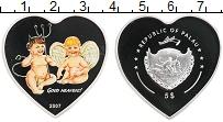Изображение Монеты Палау 5 долларов 2007 Серебро Proof Цифровая печать. Анг