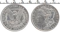 Изображение Монеты США 1 доллар 1881 Серебро XF-
