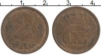 Изображение Монеты Дания 2 эре 1921 Бронза XF Кристиан Х