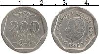 Изображение Монеты Испания 200 песет 1988 Медно-никель XF Хуан Карлос I