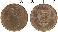 Изображение Монеты Остров Джерси 1/24 шиллинга 1894 Бронза UNC Виктория