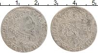 Изображение Монеты Польша 6 грошей 1627 Серебро VF Сигизмунд III