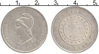 Изображение Монеты Бразилия 500 рейс 1889 Серебро XF-
