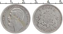 Изображение Монеты Швеция 1 крона 1876 Серебро VF Оскар II