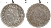 Изображение Монеты Аргентина 10 сентаво 1882 Серебро XF