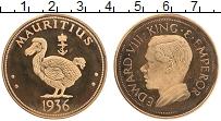 Изображение Монеты Маврикий 1 крона 1936 Бронза UNC- UNUSUAL. Эдуард VIII