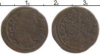 Изображение Монеты Польша 1 солид 1663 Медь VF Ян II Казимир
