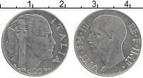 Изображение Монеты Италия 20 чентезимо 1941 Железо XF Виктор Эммануил III