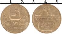 Изображение Монеты Финляндия 5 марок 1987 Латунь XF