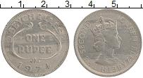 Изображение Монеты Сейшелы 1 рупия 1974 Медно-никель XF Елизавета II.