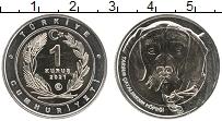 Продать Монеты Турция 1 куруш 2021 Биметалл