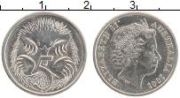 Изображение Монеты Австралия 5 центов 2001 Медно-никель UNC- Елизавета II