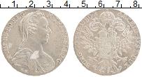 Изображение Монеты Австрия 1 талер 1780 Серебро UNC- Мария Терезия. РЕСТР