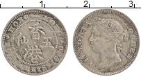 Изображение Монеты Гонконг 5 центов 1900 Серебро XF Виктория