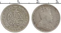 Изображение Монеты Гонконг 5 центов 1905 Серебро XF Эдуард VII