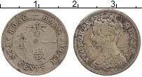 Изображение Монеты Гонконг 10 центов 1901 Серебро XF Виктория