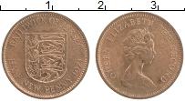 Изображение Монеты Остров Джерси 1/2 пенни 1971 Бронза UNC- Елизавета II.