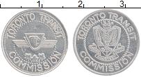 Изображение Монеты Канада Жетон 1934 Алюминий XF Транзит Торонто