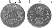Изображение Монеты Индия 1 рупия 2000 Медно-никель