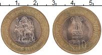 Изображение Монеты Индия 10 рупий 2012 Биметалл  Вайшно Деви Мандир