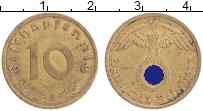 Изображение Монеты Третий Рейх 10 пфеннигов 1937 Бронза  А