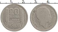 Изображение Монеты Алжир 20 франков 1949 Медно-никель