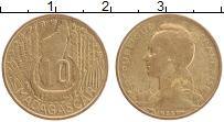Изображение Монеты Мадагаскар 10 франков 1953 Бронза