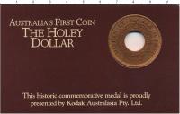 Изображение Подарочные монеты Австралия Жетон 1988 Медь UNC