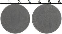Изображение Монеты Алжир 10 сантим 1917 Цинк VF Токен