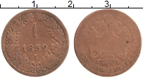 Изображение Монеты Австрия 1 крейцер 1859 Медь VF