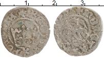 Изображение Монеты Польша 1/2 гроша 0 Серебро XF Казимир IV Ягелончик