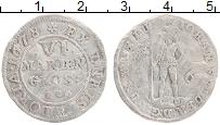 Изображение Монеты Брауншвайг-Вольфенбюттель 6 марьенгрош 1678 Серебро VF