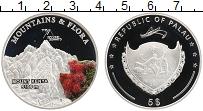 Изображение Монеты Палау 5 долларов 2011 Серебро Proof Горы и флора. Кения
