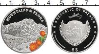 Изображение Монеты Палау 5 долларов 2009 Серебро Proof Горы и флора. Монбла
