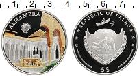 Изображение Монеты Палау 5 долларов 2011 Серебро Proof Альгамбра цветная пе
