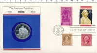 Изображение Подарочные монеты США 1/2 доллара 1982 Серебро Proof